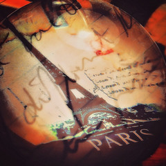 2/365 We'll always have Paris (CarmenSisson) Tags: coden alabama usa 365the2018edition 3652018 day2365 02jan18 paperweight paris eiffeltower doubleexposure handwriting