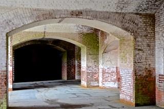 Fort Point,  ground level