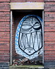 angry face in alcove (Harry Halibut) Tags: 2017©andrewpettigrew allrightsreserved imagesofsheffield images sheffieldarchitecture sheffieldbuildings colourbysoftwarelaziness sheffield south yorkshire publicartinsheffield public art streetart graffiti murals sheff1712315435