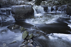 Ice Falls. (CamraMan.) Tags: ashgill waterfall frozen ice cumbria longexposure rocks water slippy canon6d canon1740mmlusm manfrotto leepolariser ©davidliddle ©camraman