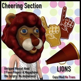 [LJ] Cheering Section - Lions