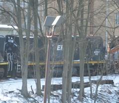New Brunswick East Coast (SFEX) C424 4204 (1965 MLW C424 ex-CP) (R36 Coach) Tags: c424 mlw alco 1965