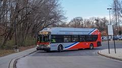 WMATA Metrobus 2016 New Flyer Xcelsior XN40 #2907 (MW Transit Photos) Tags: wmata metrobus new flyer xcelsior xn40