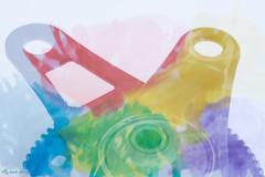 #DoubleExposure (aenee) Tags: aenee nikond7100 sigma105mm128dgmacro doubleexposure macromondays 3inch 7cm colourful detail electrichedgetrimmerpart macro watercolour dsc1175 20180107