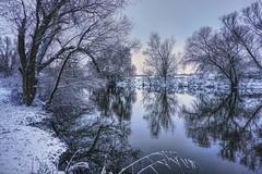 It snowed (Parchman Kid (Jerry)) Tags: reflections frozen winter mood wonder world wintry gensingen naheriverinwinter snow landscape landscapes parchmankid sony a6000