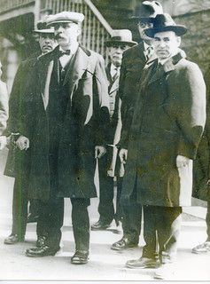 Sacco and Vanzetti at trial: 1927