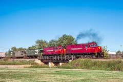Switching at Springdale (douglilly) Tags: arkansasmissouri springdale c420