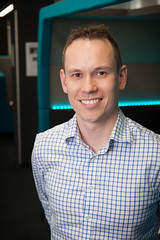 Michael Milford (QUT Science and Engineering Faculty) Tags: intelligence image processing neurosciences artificial qut staff profile portrait acrv australian centre robotic vision eecs electrical engineering computer science robotics autonomous systems
