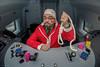 Jingle Bell Rock (sdupimages) Tags: santaclaus décalé parody parodie funny fun train cab christmas portrait santa noël tgv