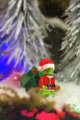 grinch (filipposartoris) Tags: snow ice natale lego blocks brick albero orso neve christmas santa claus north pole xmas grinch