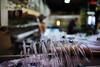 Atelier 'Vito Enseigne', Pantin, France (johann walter bantz) Tags: décorpourcinéma deco éclairage quartierbresson 93 banlieueparisienne documentary documentaire working manœuvre color souffleur tube neon 35mm nikond4s artofvisual bokeh pantin vitoenseigne atelier