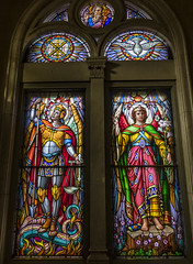 Let Angels Guide Thee (Kevin Tataryn) Tags: stained glass church religion angels nikon d500 tokina 1116 westmount montreal window colour