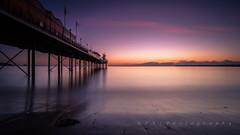 Glow (RTA Photography) Tags: rtaphotography torbay devon southdevon paigntonpier dawn light longexposure ndfilter 10stopnd nikond750 nikkor1835