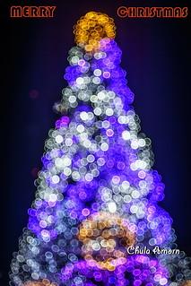 Bangkok Christmas Bokeh