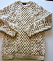 Aran wool jumper sweater (Mytwist) Tags: aranstyle wool irish style fashion fisherman cabled herritage sweater jumper knit woollen fetish donegal