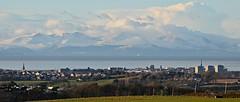Ayr, Scotland (Allan Durward) Tags: ayr ayrshire southayrshire scotland arran isleofarran snow goatfell