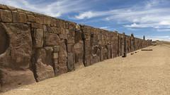 Kalasasaya Temple - Tiwanaku (Leonardo V Barbosa) Tags: kalasasaya temple templo bolívia archaeologicalsite adventure roadtrip cartrip exploring expedition southamerica culture