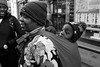 2017_362 (Chilanga Cement) Tags: fuji fujix100f xseries x100f bw blackandwhite child baby zimbabwe shona nottingham vudzirefu street shawl sidewalk pavement laughter laughing children