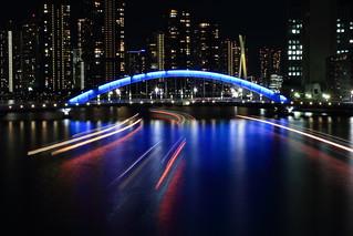 Night View of Sumida River (Tokyo)