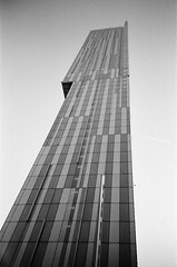 1 (bigalid) Tags: film 35mm lomo lca kentmere 400iso bw manchester october 2017 tower hilton