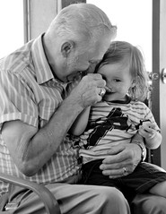 I've got your nose! (rabidscottsman) Tags: scotthendersonphotography uncle uncleray family man child ihaveyournose igotyournose portrait smile blackandwhite bw laughing nikon nikond7100 d7100 tamron tamron18270 18270