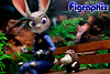 What's the problem? (Figraphix) Tags: revoltech judyhopps kaiyodo zootopia actionfigure