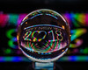 2018:01 Happy New Year (DMWardPhotography) Tags: 365the2018edition 3652018 day1365 01jan18 crystalball reflections ball macro abstract