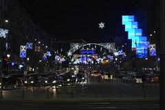 Christmas in Bucharest (WT_fan06) Tags: christmas bucharest craciun bucuresti night light lumina decorations decoratiuni city centre centru unirii square noapte tradition iarna winter aesthetic artsy 2017 vibes piata nikon d3400 romania