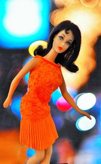 FOR THE LOVE OF MARLO (ModBarbieLover) Tags: barbie marlo tnt film 1970 1971 mattel fashion brunette flip disco dater ken scene