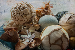 Pot Pourri. (Petefromstaffs) Tags: potpourri textured bowl elements unusual interesting indoor stilllife