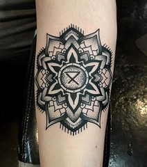 Nathan Fisher - Black 13 Tattoo