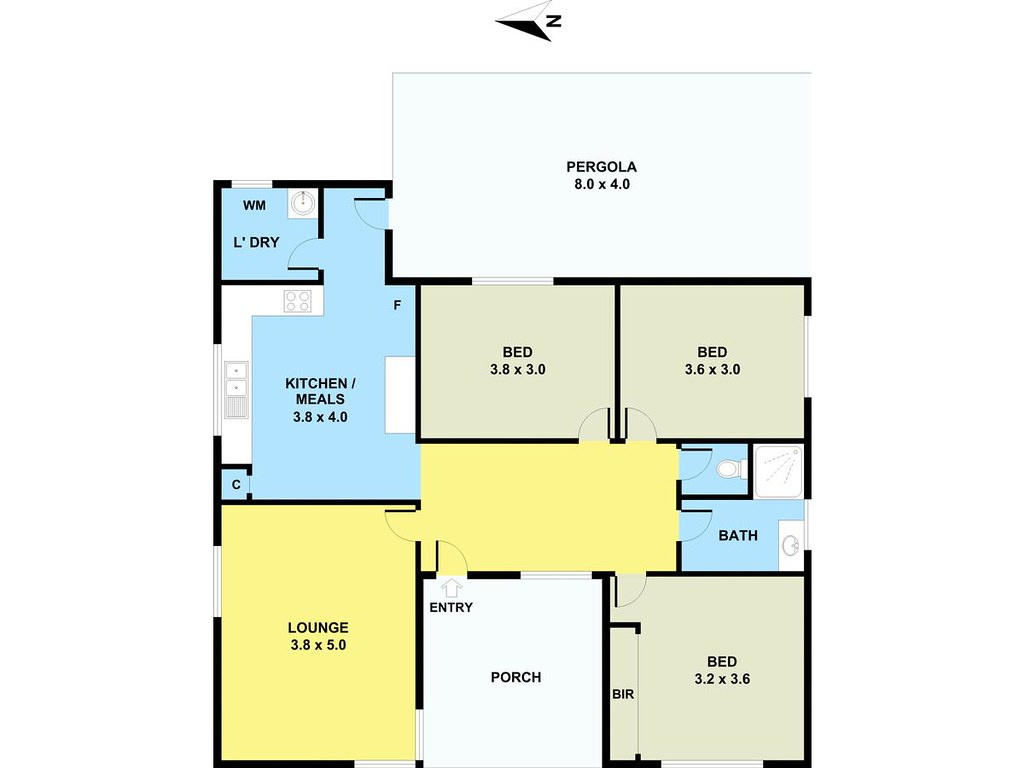 32 Chelsey Street floorplan