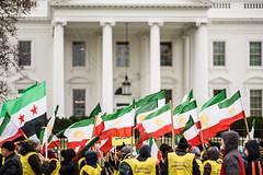 Iranians Regime Change Now Protest (Geoff Livingston) Tags: iran regime change now protest whitehouse freeiran