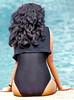 Lady in black (gerard eder) Tags: world travel reise viajes asia southeastasia malaysia penangisland penang pool hotel hotelpool people peopleoftheworld lady woman girl outdoor person black