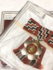 Storage solution: Queens Service Order decoration and case (SandyEm) Tags: 4january2018 queensserviceorder qso aucklandwarmemorialmuseum aucklandmuseum collectionmanagement museummoment