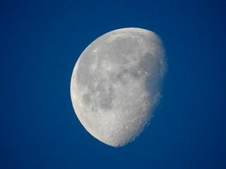 Waning Moon, Helston, Cornwall 6 January 2018