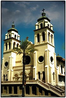 Phoenix  Arizona - Saint Mary's Basilica - The Church of the Immaculate Conception of the Blessed Virgin Mary in the Roman Catholic Diocese of Phoenix