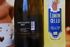 FERGHETTINA (cariatide44) Tags: franciacorta brut spumante ferghettina limoncello sorrento liquore