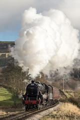 44871 on the KWVR (andrewjplummer) Tags: black5 kwvr steamtrain preserved heritage stanier british railways lms