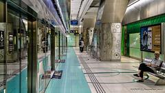 Dubai, United Arab Emirates: Baniyas Square metro station (Green Line) (nabobswims) Tags: ae baniyassquare dubai hdr highdynamicrange ilce6000 lightroom metro nabob nabobswims photomatix rta rapidtransit sel18105g sonya6000 station subway ubahn uae unitedarabemirates