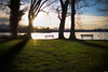 Last light of the year (Rico the noob) Tags: dof bokeh 50mm landscape sunset nature water mountains outdoor lake clouds sun 2017 tree trees people sky published grass 50mmf12 d850 germany
