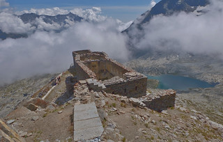 Fort Malamot, 2917 metres altitude, Mont Cenis, Haute Maurienne