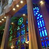 Sagrada Familia int. 2 (Nina A. J. G.) Tags: catalonia catalunya barcelona gaudi antonigaudí gaudí artnouveau architecture modernism hyperboloid hyperboloidstructure mathematics catholicism cathedral sagradafamilia interior stainedglass stainedglasswindows