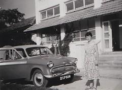 12 Magagoni St Dar es Salaam Tanzania 1958 (Bury Gardener) Tags: bw blackandwhite oldies old vintage 1950s 1958 snaps scans people folks tanzania africa