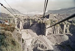 Dorothea quarry and aerial ropeway (TrainsandTravel) Tags: wales cymru pays de galles narrowgauge voieetroite schmalspurbahn nantllerailway 3ft6in 1067mm dorotheaquarry