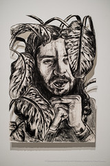 hoopsnake-4903 (olemiss_artdept) Tags: art department fine oxford tupelo ms mississippi universityofmississippi university gallery 130 meek hall campus paint painting print printmaking charcoal drawing portrait