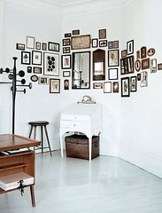 Fabulous oddly shaped nook turned gallery wall! (Home Decor and Fashion) Tags: fabulous gallery nook oddly shaped turned wall