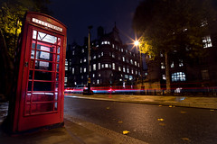 London Lapse (max tdubs) Tags: 500px city street night sidewalk architecture cityscape london telephone pedestrian alley long exposure colours light midnight avenue timelapse photography building exterior box town square nightlapse