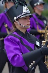Musician (swong95765) Tags: uniform girl female highschool band march pretty