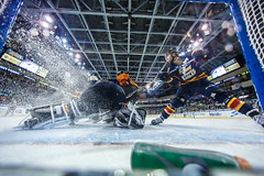 "Kansas City Mavericks vs. Colorado Eagles, December 17, 2017, Silverstein Eye Centers Arena, Independence, Missouri.  Photo: © John Howe / Howe Creative Photography, all rights reserved 2017. • <a style=""font-size:0.8em;"" href=""http://www.flickr.com/photos/134016632@N02/24278227527/"" target=""_blank"">View on Flickr</a>"